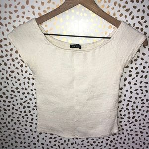 Brandy Melville Off the Shoulder Cinched Top